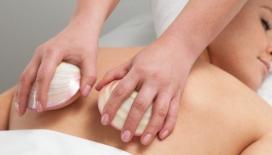 lava shell back massage picture